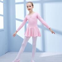 舞蹈服儿童拉丁服装演出服中国舞蹈服装女童长袖春夏练功服