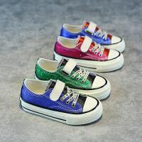 春季儿童板鞋女童帆布鞋公主鞋宝宝布鞋