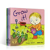 吴敏兰书单推荐Helping hands小帮手系列5册 英文原版 Fix It!修理/Grow成长/Recycling