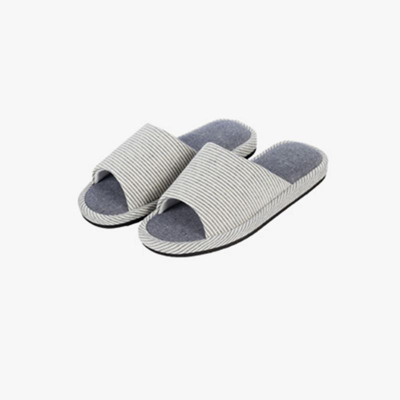 当当优品  简约家居棉拖鞋软底木地板拖鞋当当自营  简约时尚 加厚鞋底 更舒适 防滑耐磨