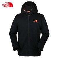 【清仓】北面软壳衣男(The North Face)春季新款户外休闲防泼水运动风衣夹克外套3GJ8