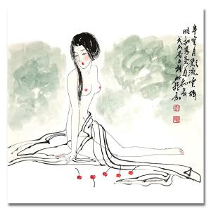 国家一级美术师 薛林兴 《人物1》