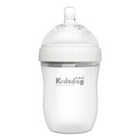 婴儿硅胶奶瓶仿母乳宽口径断奶全软宝宝