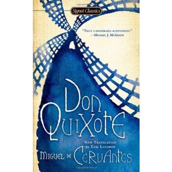 堂吉诃德 英文原版 Don Quixote 经典世界名著 全英文版原版进口英语书籍 便携版 完整未删节