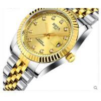 新款休闲户外手表男石英表精钢带防水男士手表
