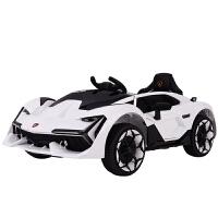 婴儿童电动汽车带遥控四轮可坐人摇摆3岁孩子玩具车大号 白色 s+功能版 可调速 缓启动