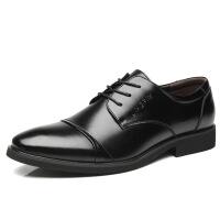四季款 商务休闲皮鞋男 正装皮鞋男士 工作鞋