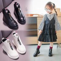 2到12岁11女孩10至9小孩穿的8女童皮鞋7秋冬短靴6白色5公主4儿童3