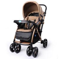 婴儿推车四轮避震双向折叠可坐可平躺全蓬儿童手推车