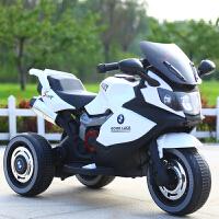 儿童电动三轮车儿童电动摩托车男孩充电儿童电动车宝宝童车大号电瓶车小孩