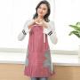 泰蜜熊家用可擦手防水围裙女时尚可爱围腰日式厨房大人做饭防油罩衣男