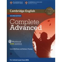 【预订】Complete Advanced Workbook with Answers with Audio CD