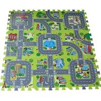 宝宝爬爬垫启蒙交通游戏拼图儿童爬行垫婴儿泡沫拼接地垫