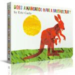 袋鼠也有妈妈吗?进口原版 硬纸板 童趣绘本学前教育(4-6岁),Eric Carle(艾瑞・卡尔),暂无,978069