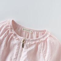 davebella戴维贝拉2020春装新款女童外套宝宝洋气外套DB13375