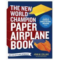【预订】The New World Champion Paper Airplane Book: Featuring t