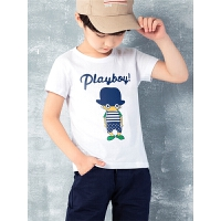 男童短袖t恤春装童装儿童宝宝半袖中大童上衣夏季打底衫
