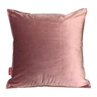 简约纯色时尚布艺沙发靠垫办公室腰枕床头靠背垫抱枕套