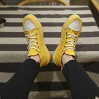 鞋子男帆布鞋高帮韩版百搭潮板鞋ulzzang原宿中帮增高休闲鞋春季