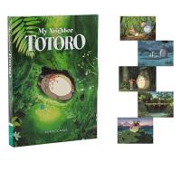 英文原版 My Neighbor Totoro 精�b ���明信片30�� �m崎�E�影周��Y品�� 吉卜力工作室
