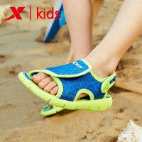 特步儿童 27-31码男小童沙滩凉鞋夏季男宝宝凉鞋儿童鞋子682215509691