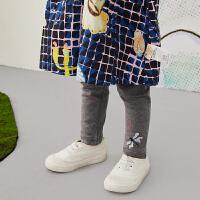 【6折价:59.4元】马拉丁童装女小童裤子春装2020年新款百搭打底裤儿童长裤