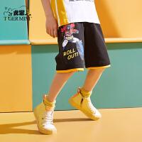 【3件2折:47元】小虎宝儿旗舰店男童短裤纯棉儿童五分裤夏季薄款2021新款中大童潮
