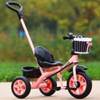 小孩三轮车脚踏车1-3-5岁宝宝幼儿手推车自行车轻便童车