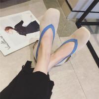 2018秋季新款女鞋秋方头浅口单鞋女韩版软底透气编织鞋平底鞋单鞋