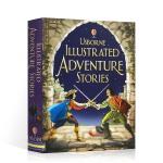 顺丰发货 英文原版 Usborne Illustrated adventure stories 冒险故事 精装 全彩插