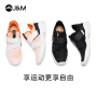 jm快乐玛丽2020秋季新款潮运动鞋休闲魔术贴网布透气平底女鞋