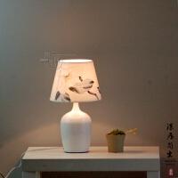 台灯卧室可调光 小夜灯喂奶灯具遥控 触摸开关床头灯