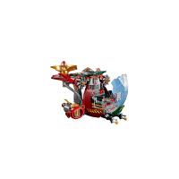 博乐幻影忍者气功传奇忍者系列高7代机甲飞龙拼装积木儿童玩具