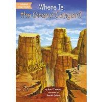 【现货】英文原版 Where Is the Grand Canyon? 大峡谷在哪儿? who was/is认知系列 中