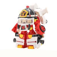 20190408034254060波利警长变形警车机器人救援队套装波力罗伊消防车珀利儿童玩具车