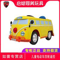 美国rollplay如雷儿童电动车四轮遥控可坐人婴儿小汽车宝宝玩具车