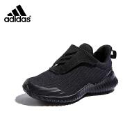【到手价:214.5元】阿迪达斯(adidas)男童鞋新款魔术贴儿童运动跑步鞋AH2632 黑色
