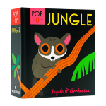 【预订】Pop-up立体书 Jungle 丛林 英文原版儿童童书 适合0-3岁