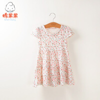 【直降价:39元】女童夏季连衣裙宝宝夏季波点长裙
