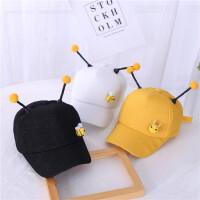 春秋新款儿童鸭舌帽宝宝可爱蜜蜂萌棒球帽男童女童婴儿遮阳帽子潮