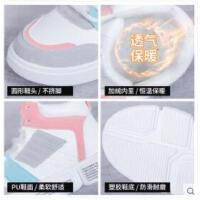 小白鞋女新款百搭韩版学生帆布高帮板鞋运动棉鞋子潮