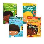 英文原版 Rodale Kids Curious Readers Dealing With Feelings This