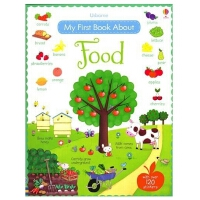 [现货]Usborne 宝宝食物认知 英文原版 My First Book About Food