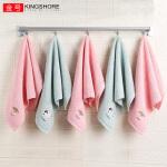 金号【5条装】纯棉儿童毛巾 家用洗脸小面巾长方形宝宝巾吸水全棉