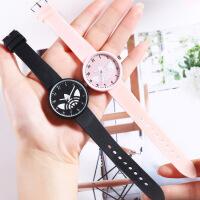 新款韩版小清新手表女时尚简约可爱中学生儿童石英休闲手表