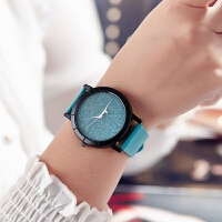 新款韩版满天星糖果色皮带手表潮流时尚简约女表石英表学生表