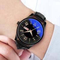 男士手表防水时尚新款韩版潮流学生夜光石英腕表非机械表男表