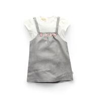 【专区39任选2件】加菲宝贝 GAFFEY KITTY 儿童套装夏装新款宝宝衣服GKA3001