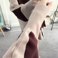 厚外套孕妇装冬装 孕妇毛衣女2018秋冬季新款韩版宽松针织衫保暖