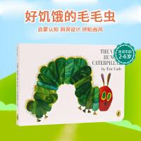 点读版 英文原版绘本 the very hungry caterpillar 饥饿的毛毛虫/好饿的毛毛虫 撕不烂纸板书